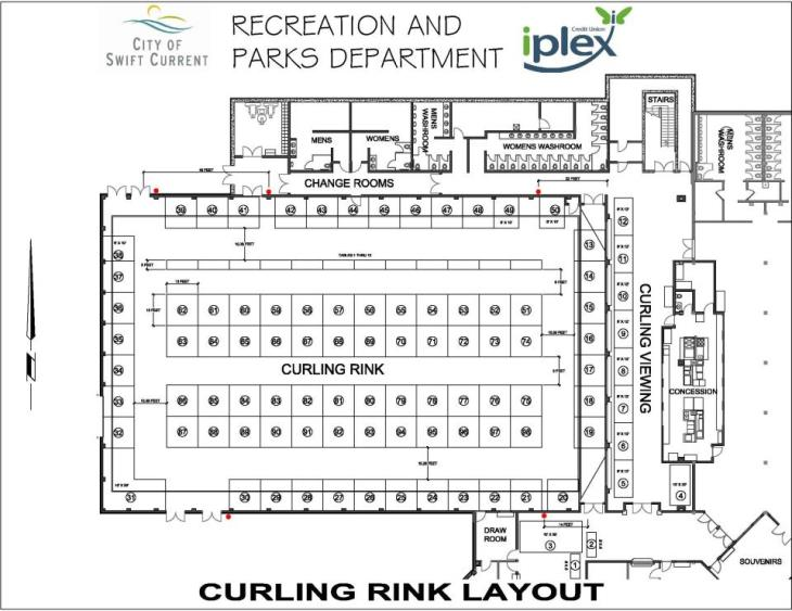 Southwest Showcase Tradeshow Main Level Layout