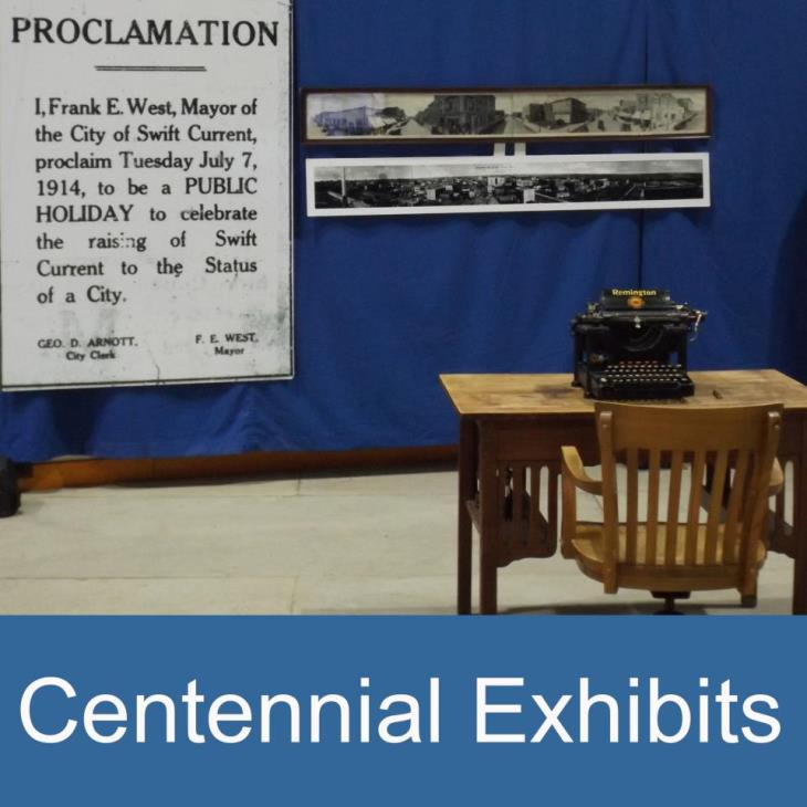 Centennial exhibits icon
